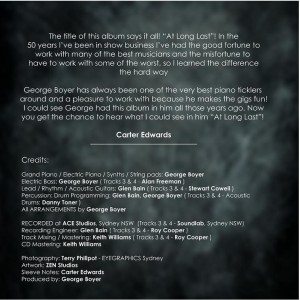 At Long Last - Sleeve Notes and Credits - Full Size